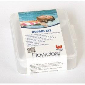 BESTWAY 58275 REPAIR KIT FOR POOLS MASTIC 5 GR AND 4 PATCHES