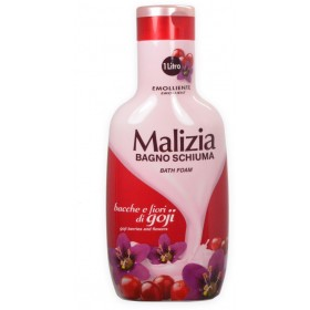 MALIZIA BATH FOAM GOJI BERRIES AND FLOWERS ml. 1000