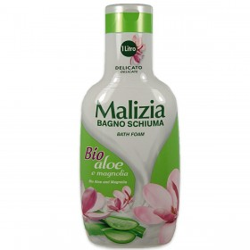 MALIZIA BIO ALOE AND MAGNOLIA BATH FOAM ml. 1000