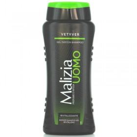 MALIZIA SHOWER SHAMPOO VETIVER ml. 250