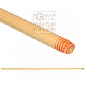 EXTRA WOODEN HANDLE FOR Broom CM.130 THREADED CONNECTION