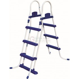 BESTWAY 58330 SAFETY LADDER FOR POOLS ROBUST HEIGHT CM. 107