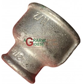 GALVANIZED REDUCED THREADED SLEEVE 1.1 / 2 - 3/4