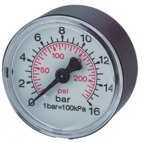 MANOMETER FOR COMPRESSOR D.50 CODE BM108152