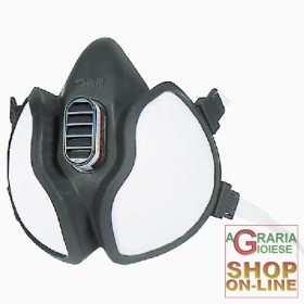 3M 4251 CEFFA1P2RD MASK COMPLETE WITH FILTERS