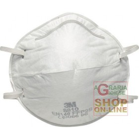 3M MASK FOR TOXIC FUMES AND DUST FFP2 NR D