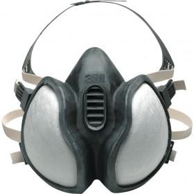 3M MASK FOR ORGANIC VAPORS INORGANIC GAS VAPORS COMPLETE WITH FFABE1P3 FILTERS