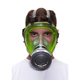 BLS 5150 CLASS 3 FACIAL ANTIGAS MASK IN THERMOPLASTIC RUBBER