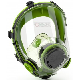 FACIAL ANTI-GAS MASK WITH EYE PROTECTION POLYCARBONATE SHIELD
