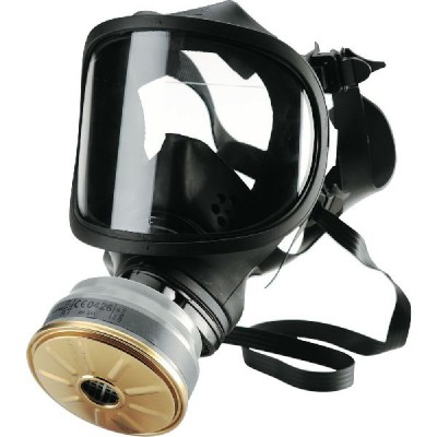 SPASCIANI TR82 POLYCARBONATE SCREEN ANTIGAS FACE MASK WITH EYE PROTECTION