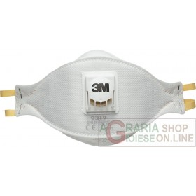 3M FOLDING MASK IN NON-WOVEN FABRIC ART. 9312