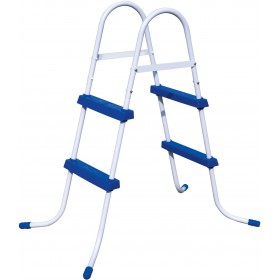 BESTWAY 58430 DOUBLE LADDER ASCENT FOR POOLS HEIGHT CM. 84