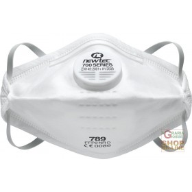 FOLDING HYGIENIC DUST MASK FFP2 NR D