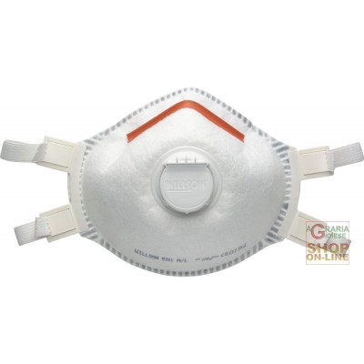 SPERIAN MASK WITH EXHAUST VALVE PROTECTION FROM FOGS, FUMES AND