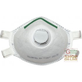 SPERIAN MASK PROTECTION AGAINST METALLIC FUMES AND MEDIUM TOXICITY DUST WITH EXHALATION VALVE