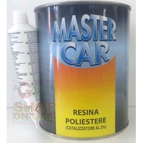 MASTERCAR POLYESTER RESIN WITH CATALYST ML.750
