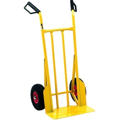 MAURER ZEUS CRATE HOLDER TROLLEY WITH PNEUMATIC RUORE KG. 200