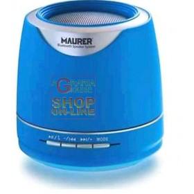 MAURER SPEAKER CASE PORTABLE BLUETOOTH WATT. 3