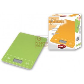 MAX 2KG DUAL COLOR GLASS KITCHEN SCALE
