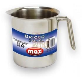 MAX BRICCO 180ML INOX