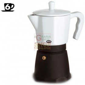 MAX CAFFETTIERA 6 TZ CHANTILLY PORCELLANA