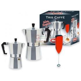 MAX CONF. 3PZ CAFFETTIERE 1/3 TZ. CON CREMI