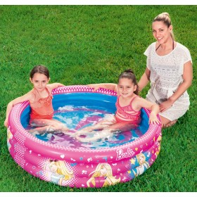 Bestway 93205 Inflatable Barbie pool for children cm. 122x30h.