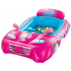 Bestway 93207 Barbie Sports Car with Steering Wheel and