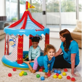 Bestway 93505 INFLATABLE CIRCUS FISHER PRICE MULTICOLOR WITH