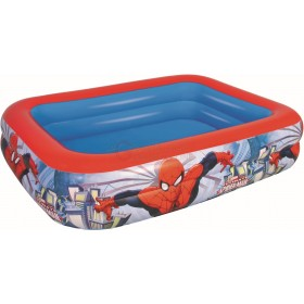 BESTWAY 98011 POOL 2 RINGS SPIDERMAN CM.201X150X51h.
