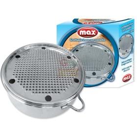 MAX GRATTUGIA BARI C/CESTELLO DIA 19CM INOX