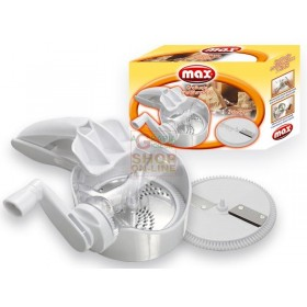 MAX 2 DISC MULTIFUNCTION GRATER