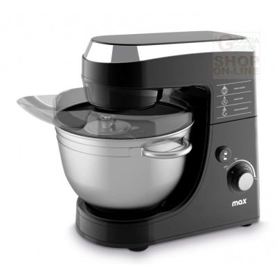 MAX ELECTRIC PLANETARY MIXER WITH STAINLESS STEEL BOWL LT. 4.2