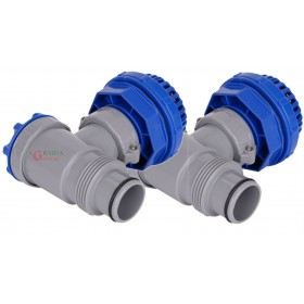 BESTWAY F4H034NA CONNECTION VALVE FOR SWIMMING POOLS SET 2 PIECES