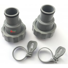 BESTWAY F6H202AS SET 2 PIECES ADAPTER FOR SAND FILTER 58257/58258