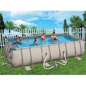 BESTWAY POOL WITH FRAME WITH PUMP CM.549X274X122H MOD. 56131
