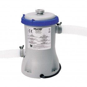 BESTWAY FILTER PUMP FOR SWIMMING POOLS WITH CARTRIDGE FILTER 2.006 LT / H MOD. 58383