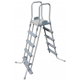 BESTWAY DOUBLE LADDER ASCENT FOR POOLS HEIGHT CM. 132 MOD. 58160