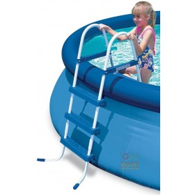 BESTWAY DOUBLE LADDER ASCENT FOR POOLS HEIGHT CM. 91 ORIGINAL MOD. 58045