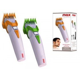 MAX HAIR CUTTER WITH RECHARGEABLE BATTERY