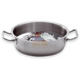 MAX 2 / M PROFESSIONAL CHEF 22 CM STAINLESS STEEL PAN