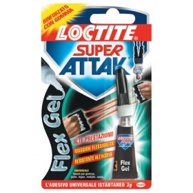 ADHESIVE ATTAK FLEX GEL GR. 3