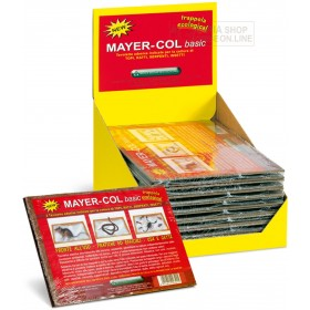 MAYERCOL BASIC ADHESIVE TABLES FOR MICE RATS SNAKES AND INSECTS PCS. 2