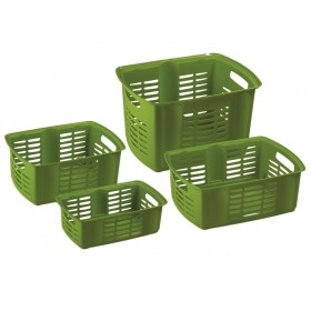 MAZZEI Hobby Basket 2 Stackable Basket cm. 35x25x15h. 9.3 liters