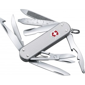 VICTORINOX COLTELLO MULTIUSO MINI CHAMP ALOX SILVER 0.6381.26