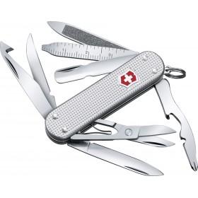 VICTORINOX MULTIPURPOSE KNIFE MINI CHAMP ALOX SILVER 0.6381.26 MM. 58