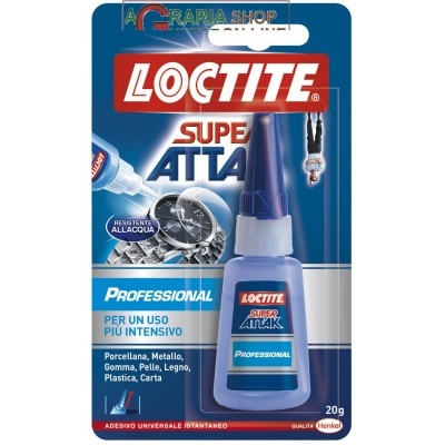 ATTAK PROFESSIONAL INSTANT ADHESIVE FOR INTENSIVE USE GR.20