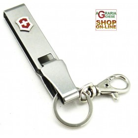 VICTORINOX HOOK MULTICLIP BELT KEYCHAIN INOX ORIGINAL VERY GOOD