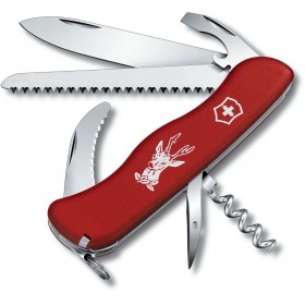 VICTORINOX HUNTER RED KNIFE FOR HUNTER RED SWISS 0.8873