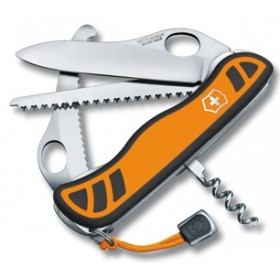 VICTORINOX HUNTER XT KE DUAL DENSITY NYLON HANDLE ORANGE BLACK